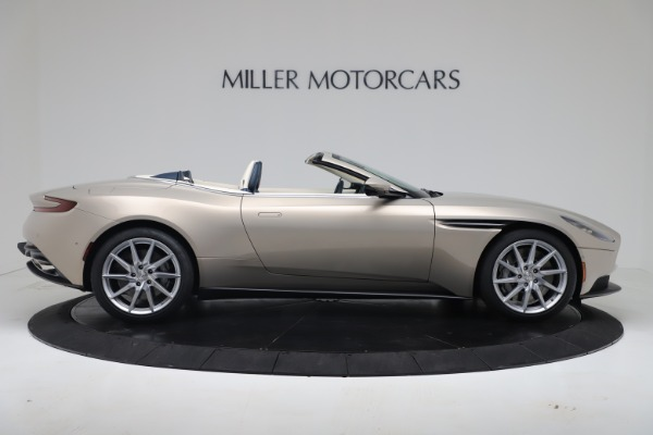 New 2020 Aston Martin DB11 Volante Convertible for sale $255,556 at Maserati of Westport in Westport CT 06880 12