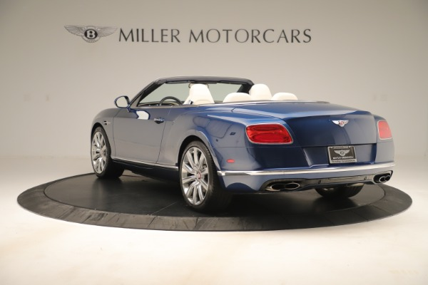 Used 2017 Bentley Continental GTC V8 for sale Sold at Maserati of Westport in Westport CT 06880 5