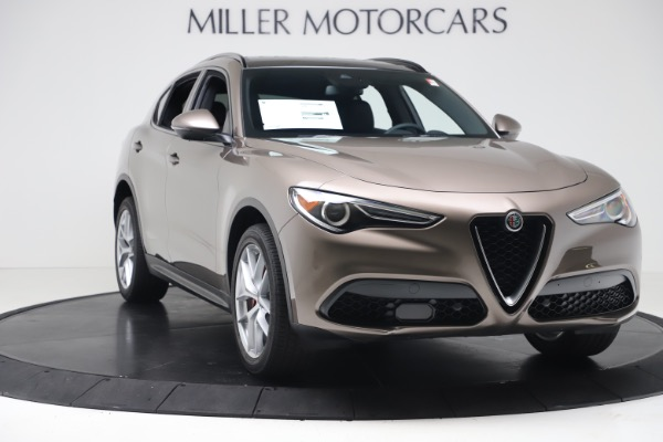 New 2019 Alfa Romeo Stelvio Ti Sport Q4 for sale $55,090 at Maserati of Westport in Westport CT 06880 11