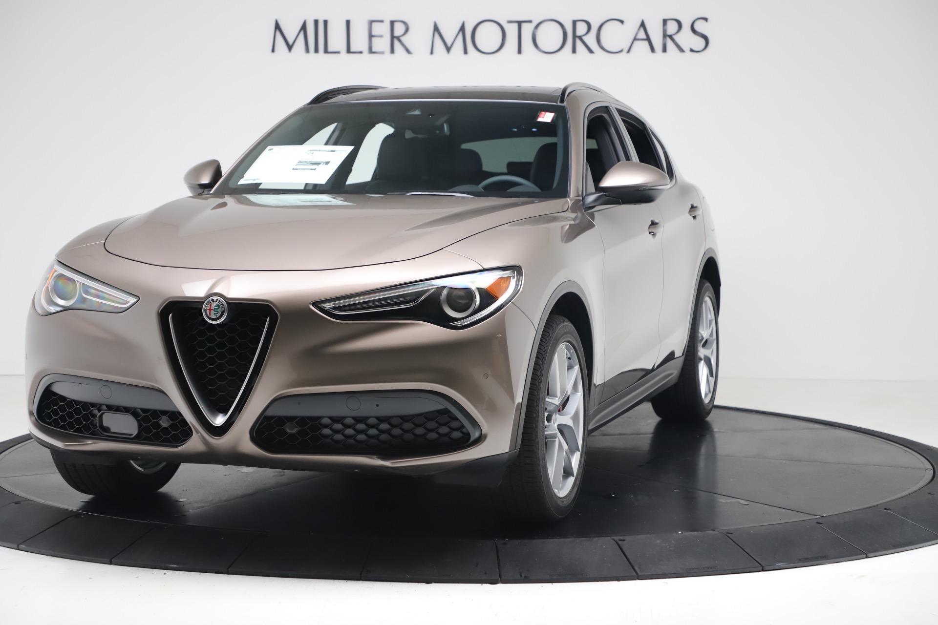 New 2019 Alfa Romeo Stelvio Ti Sport Q4 for sale $55,090 at Maserati of Westport in Westport CT 06880 1