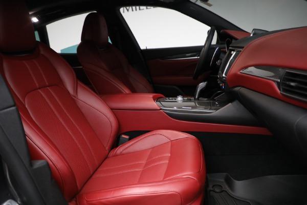 Used 2019 Maserati Levante Q4 GranSport for sale $69,900 at Maserati of Westport in Westport CT 06880 22
