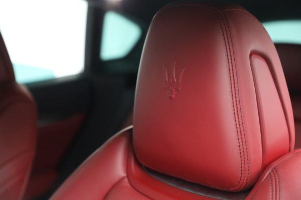Used 2019 Maserati Levante Q4 GranSport for sale $69,900 at Maserati of Westport in Westport CT 06880 28