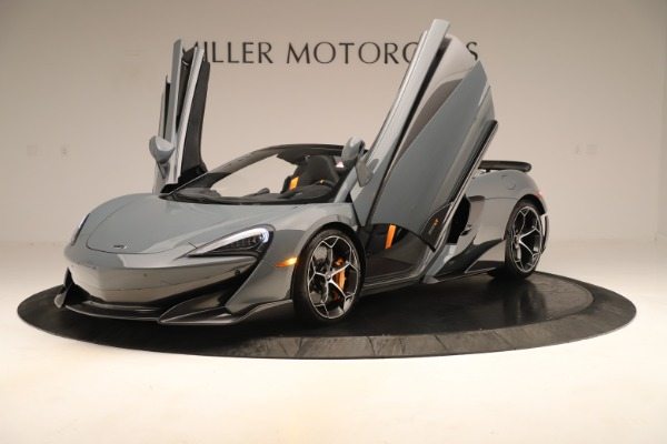 New 2020 McLaren 600LT SPIDER Convertible for sale Sold at Maserati of Westport in Westport CT 06880 13