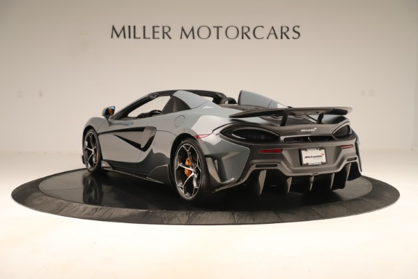 New 2020 McLaren 600LT SPIDER Convertible for sale Sold at Maserati of Westport in Westport CT 06880 4