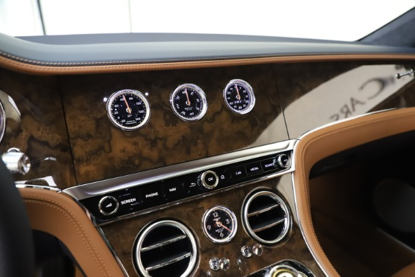 New 2020 Bentley Continental GT V8 for sale $240,935 at Maserati of Westport in Westport CT 06880 24