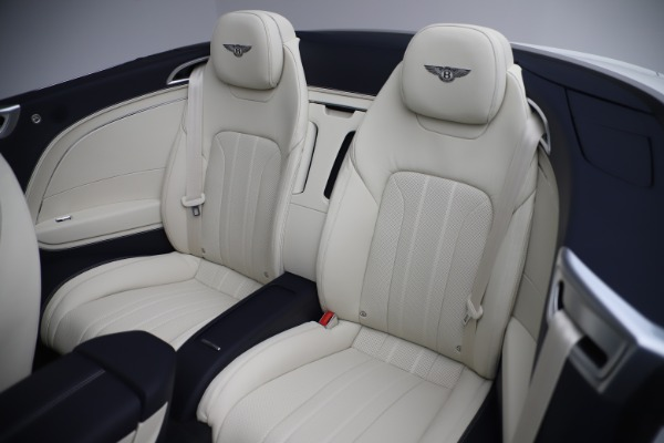 New 2020 Bentley Continental GTC V8 for sale Sold at Maserati of Westport in Westport CT 06880 27