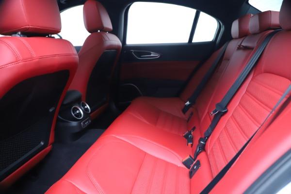 New 2019 Alfa Romeo Giulia Ti Sport Carbon Q4 for sale Sold at Maserati of Westport in Westport CT 06880 19