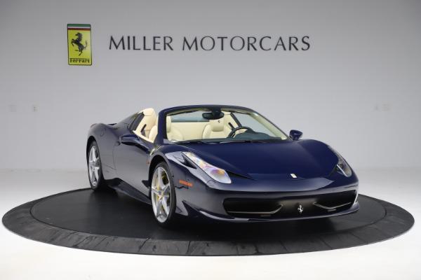 Used 2013 Ferrari 458 Spider for sale Sold at Maserati of Westport in Westport CT 06880 11