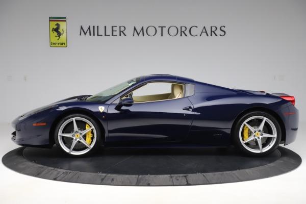 Used 2013 Ferrari 458 Spider for sale Sold at Maserati of Westport in Westport CT 06880 14