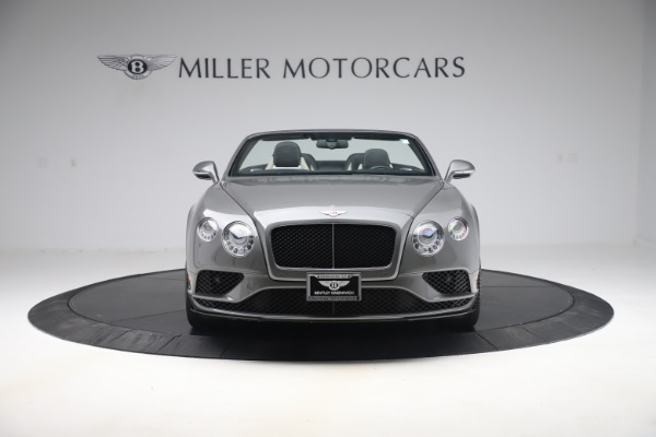 Used 2016 Bentley Continental GTC V8 S for sale Sold at Maserati of Westport in Westport CT 06880 12