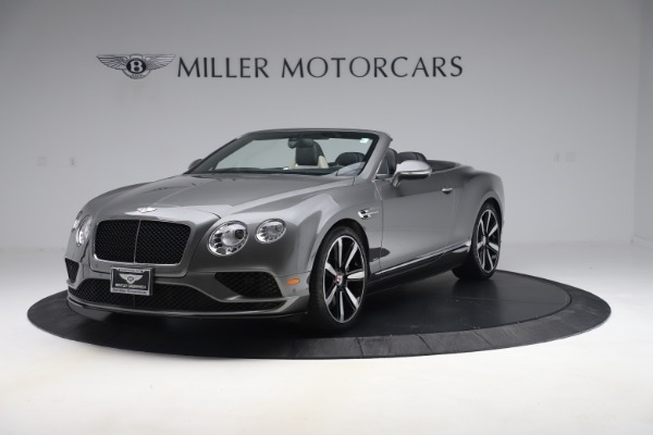Used 2016 Bentley Continental GTC V8 S for sale Sold at Maserati of Westport in Westport CT 06880 1