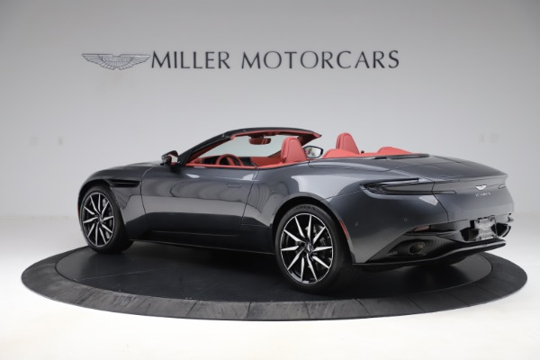Used 2020 Aston Martin DB11 Volante Convertible for sale $253,076 at Maserati of Westport in Westport CT 06880 3