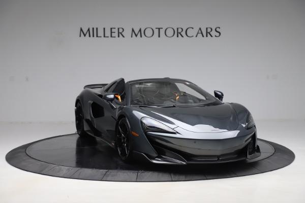 Used 2020 McLaren 600LT SPIDER Convertible for sale $249,900 at Maserati of Westport in Westport CT 06880 10