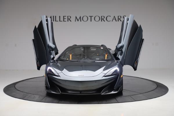 Used 2020 McLaren 600LT SPIDER Convertible for sale $249,900 at Maserati of Westport in Westport CT 06880 12