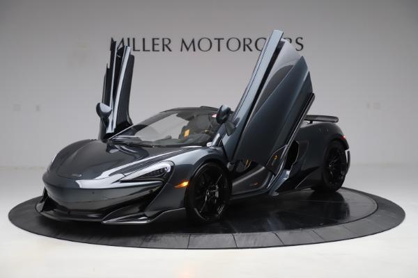 Used 2020 McLaren 600LT SPIDER Convertible for sale $249,900 at Maserati of Westport in Westport CT 06880 13