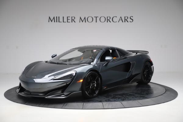 Used 2020 McLaren 600LT SPIDER Convertible for sale $249,900 at Maserati of Westport in Westport CT 06880 14
