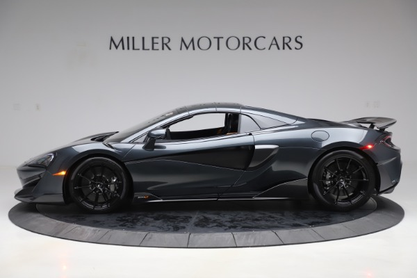Used 2020 McLaren 600LT SPIDER Convertible for sale $249,900 at Maserati of Westport in Westport CT 06880 15