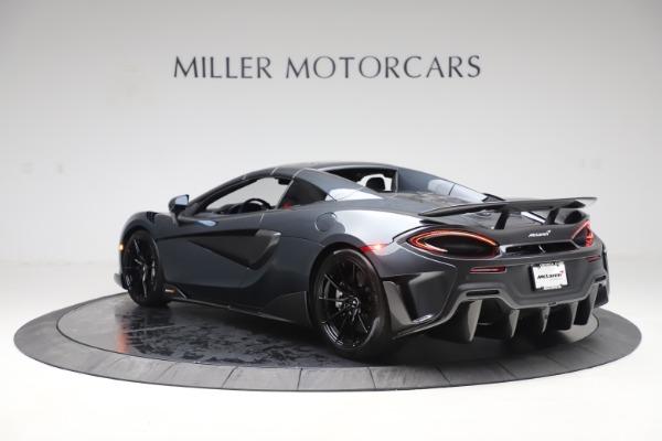 Used 2020 McLaren 600LT SPIDER Convertible for sale $249,900 at Maserati of Westport in Westport CT 06880 16