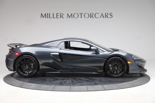 New 2020 McLaren 600LT SPIDER Convertible for sale Sold at Maserati of Westport in Westport CT 06880 19