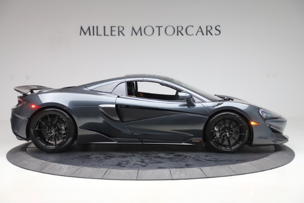 Used 2020 McLaren 600LT SPIDER Convertible for sale $249,900 at Maserati of Westport in Westport CT 06880 19