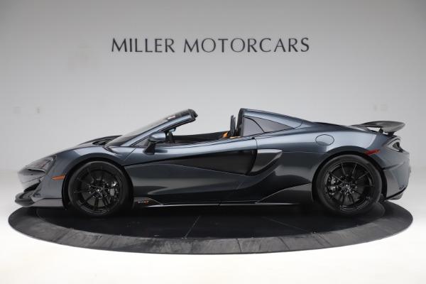 Used 2020 McLaren 600LT SPIDER Convertible for sale $249,900 at Maserati of Westport in Westport CT 06880 2