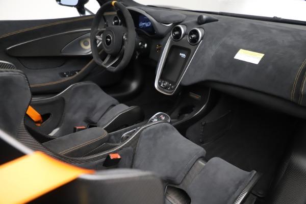 Used 2020 McLaren 600LT SPIDER Convertible for sale $249,900 at Maserati of Westport in Westport CT 06880 26