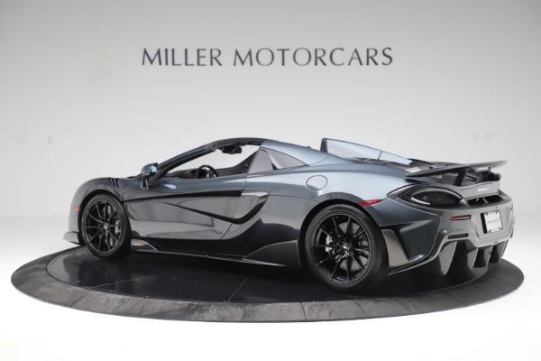 New 2020 McLaren 600LT SPIDER Convertible for sale Sold at Maserati of Westport in Westport CT 06880 3