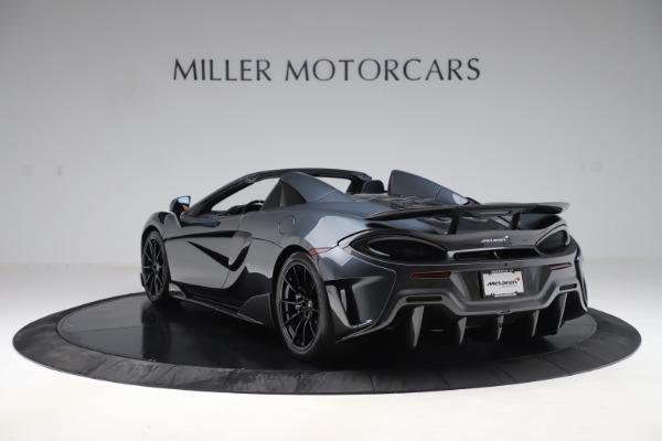 Used 2020 McLaren 600LT SPIDER Convertible for sale $249,900 at Maserati of Westport in Westport CT 06880 4