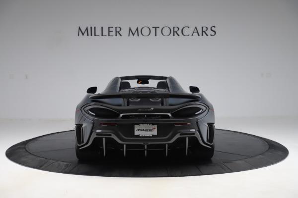 Used 2020 McLaren 600LT SPIDER Convertible for sale $249,900 at Maserati of Westport in Westport CT 06880 5