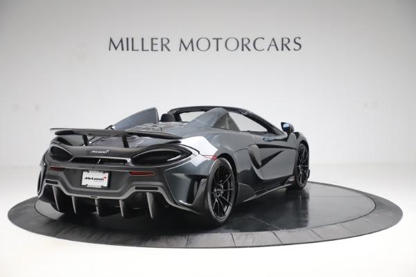 Used 2020 McLaren 600LT SPIDER Convertible for sale $249,900 at Maserati of Westport in Westport CT 06880 6
