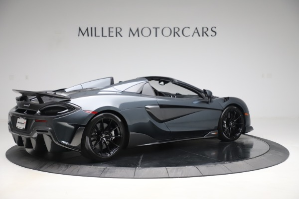 Used 2020 McLaren 600LT SPIDER Convertible for sale $249,900 at Maserati of Westport in Westport CT 06880 7