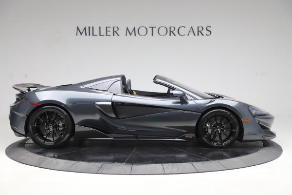 Used 2020 McLaren 600LT SPIDER Convertible for sale $249,900 at Maserati of Westport in Westport CT 06880 8