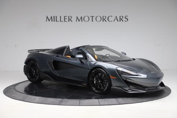 Used 2020 McLaren 600LT SPIDER Convertible for sale $249,900 at Maserati of Westport in Westport CT 06880 9