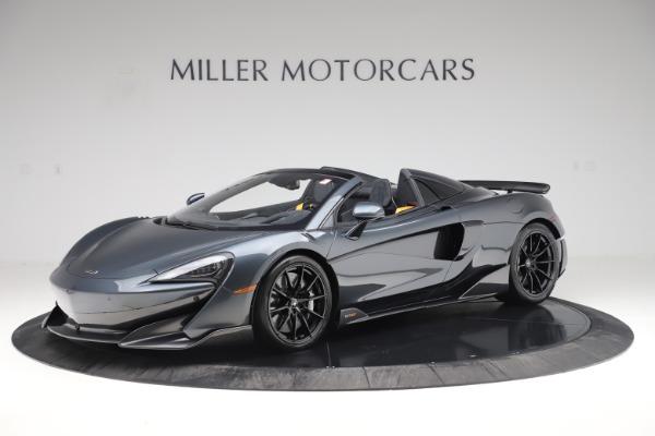 New 2020 McLaren 600LT SPIDER Convertible for sale Sold at Maserati of Westport in Westport CT 06880 1