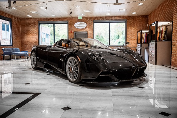Used 2017 Pagani Huayra Roadster Roadster for sale Call for price at Maserati of Westport in Westport CT 06880 3