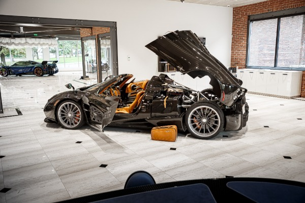 Used 2017 Pagani Huayra Roadster Roadster for sale Call for price at Maserati of Westport in Westport CT 06880 7