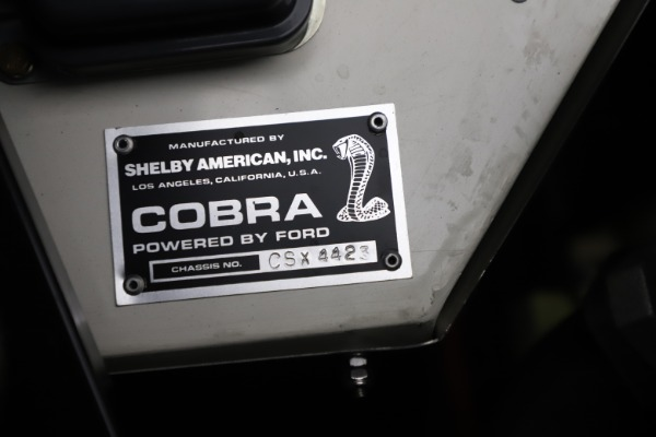 Used 1965 Ford Cobra CSX for sale Sold at Maserati of Westport in Westport CT 06880 14