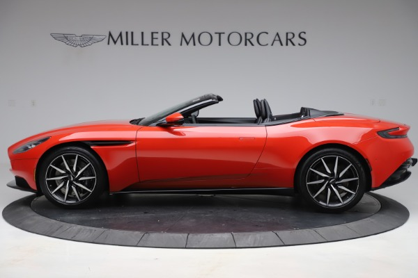 New 2020 Aston Martin DB11 Volante Convertible for sale $254,531 at Maserati of Westport in Westport CT 06880 2