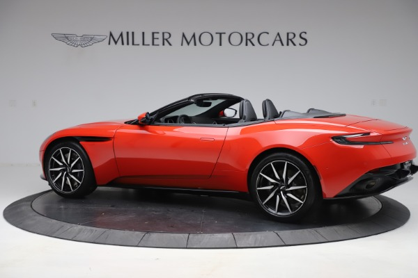 New 2020 Aston Martin DB11 Volante Convertible for sale $254,531 at Maserati of Westport in Westport CT 06880 3