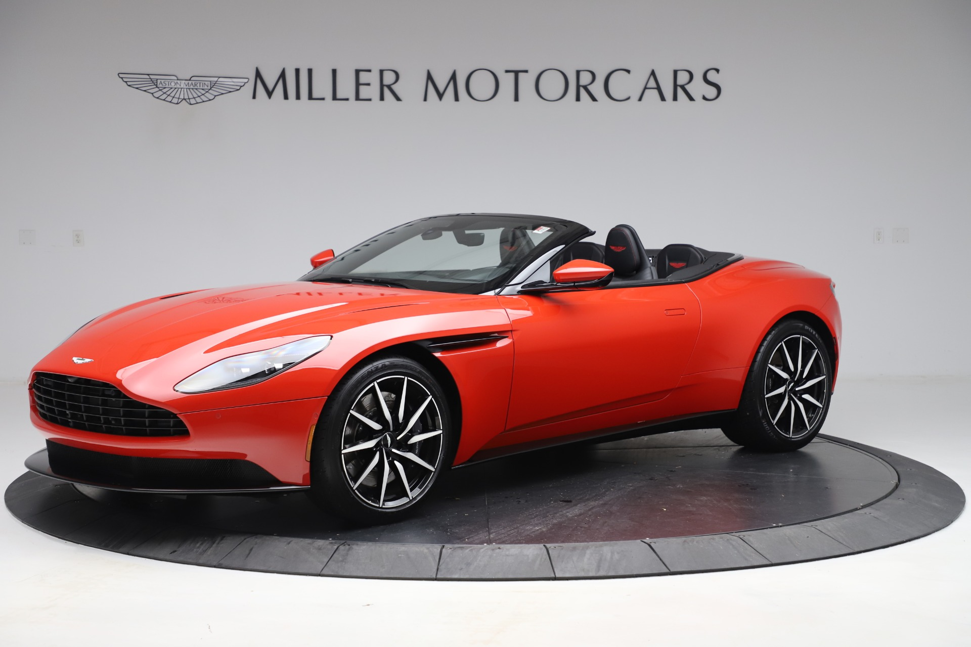 New 2020 Aston Martin DB11 Volante Convertible for sale $254,531 at Maserati of Westport in Westport CT 06880 1