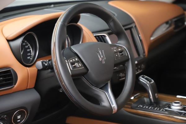 New 2019 Maserati Levante Q4 GranLusso for sale $89,550 at Maserati of Westport in Westport CT 06880 24