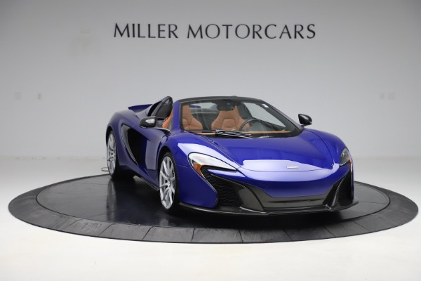 Used 2015 McLaren 650S SPIDER Convertible for sale Sold at Maserati of Westport in Westport CT 06880 11