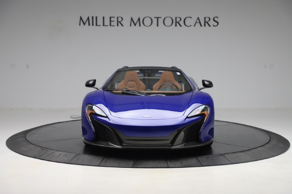 Used 2015 McLaren 650S SPIDER Convertible for sale Sold at Maserati of Westport in Westport CT 06880 12
