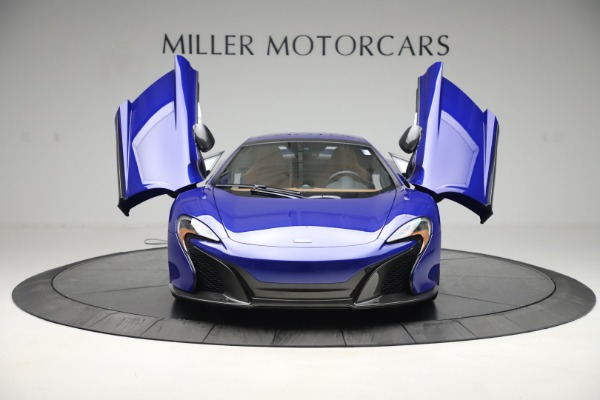 Used 2015 McLaren 650S SPIDER Convertible for sale Sold at Maserati of Westport in Westport CT 06880 13