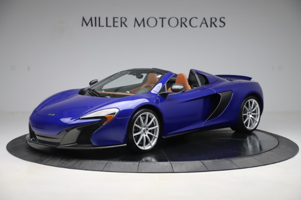Used 2015 McLaren 650S SPIDER Convertible for sale Sold at Maserati of Westport in Westport CT 06880 2