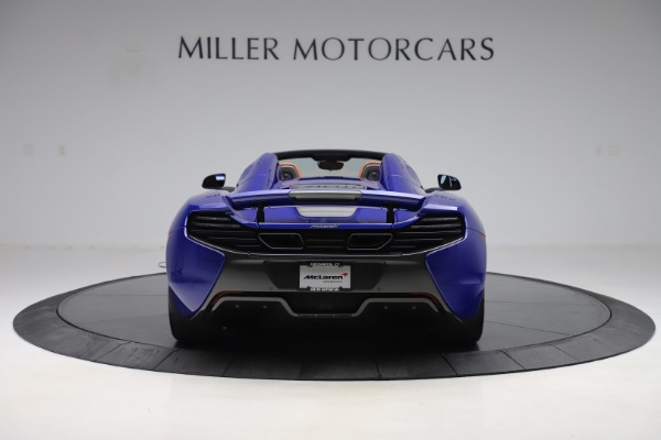 Used 2015 McLaren 650S SPIDER Convertible for sale Sold at Maserati of Westport in Westport CT 06880 6