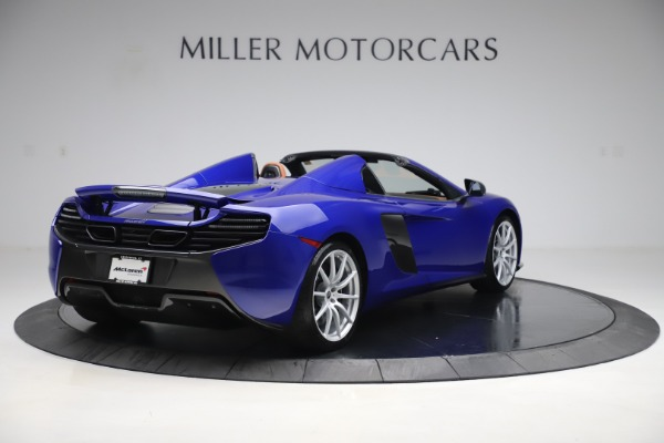 Used 2015 McLaren 650S SPIDER Convertible for sale Sold at Maserati of Westport in Westport CT 06880 7