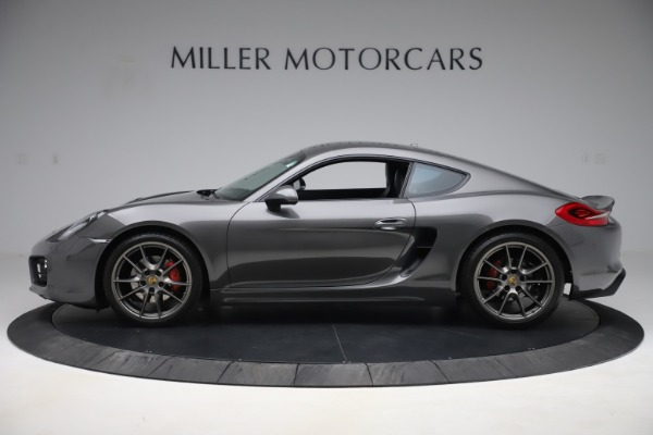Used 2015 Porsche Cayman S for sale Sold at Maserati of Westport in Westport CT 06880 3