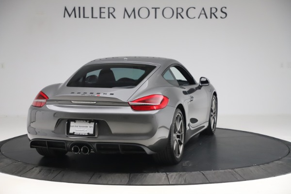 Used 2015 Porsche Cayman S for sale Sold at Maserati of Westport in Westport CT 06880 7
