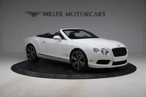 Used 2015 Bentley Continental GTC V8 for sale $119,900 at Maserati of Westport in Westport CT 06880 11